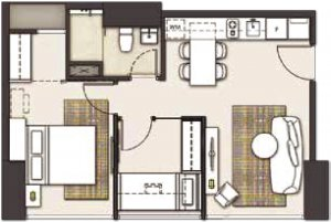 2Bedroom one parc puri